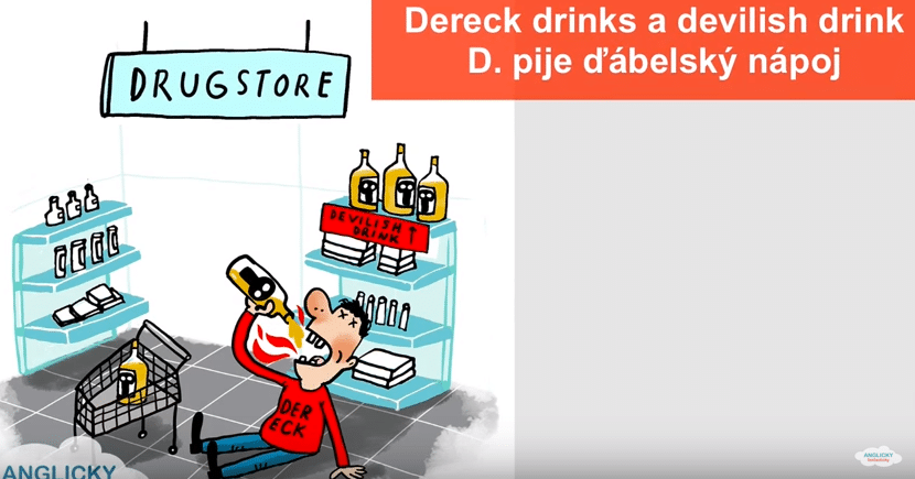 ABC-sentences-Derreck-drinks