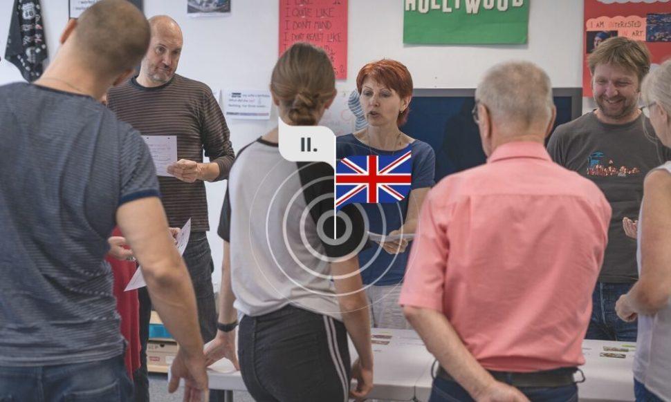 Angličtina pro mírně pokročilé súčastníky aPetrou Kořenou
