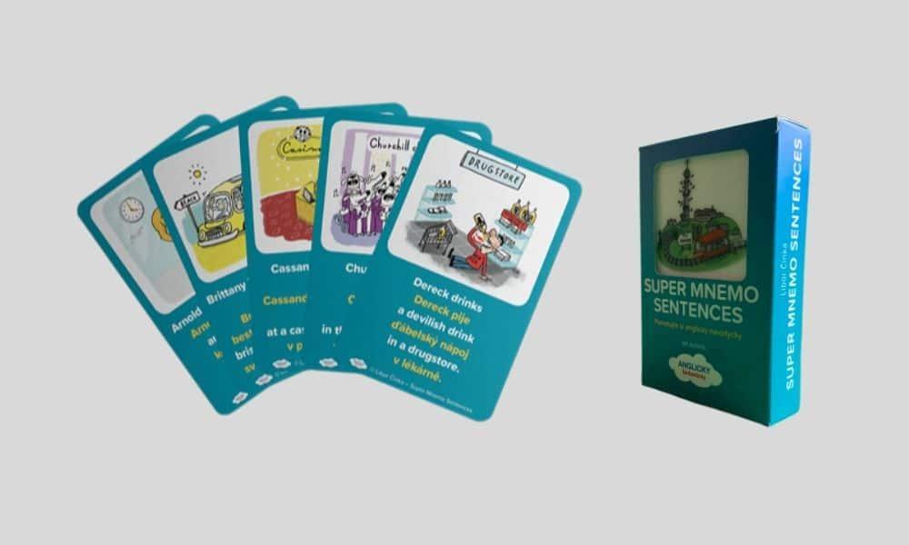 LentiCool karty - karty naučení angličtiny, které mluví