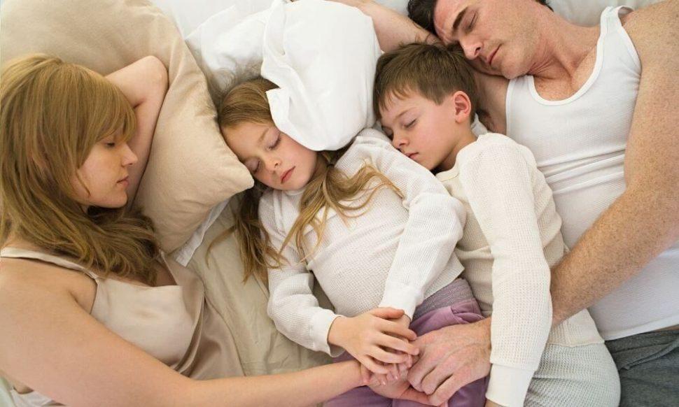 Dokonalý spánek rodiny
