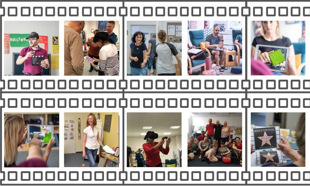 Učení angličtiny - fotografie z kurzů