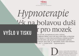 článek ohypnoterapii